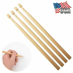 2 Pair Wooden Drumstick Pencils Music Toy HB Pencil Novelty Kids Student Gift $10.89