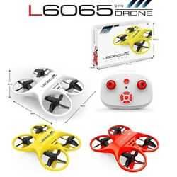 MINI Pocket Micro RC Drones Quadcopter with LED Light 3D Flips Indoor Gift $19.82