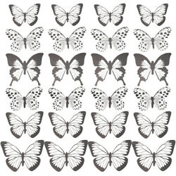 48pcs 3D Wall Butterfly Stickers Decorative Removable DIY Wall Art Stickers $9.05