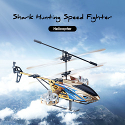 4.5CH Electric Light USB Remote Control Helicopter RC Models Outdoor RTF Version $51.95