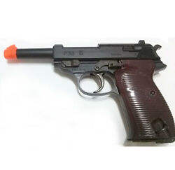 toystar walther NEW P38 Low Power Airsoft Replica 6mm Hand Grips ToyGun ⭐ $28.80