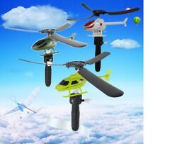 Educational Toy Helicopter Outdoor Toy Gift For Kids Children Drone For Beginner $2.99