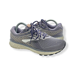 Brooks Ghost 12 Womens Grey Running Shoes Women#x27;s Size 8.5 $30.00
