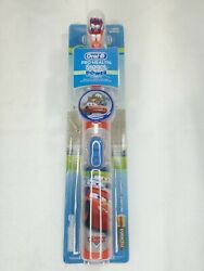 BRAND NEW Oral B Disney Cars Kids Pro Health Stages Battery Power Toothbrush $18.99
