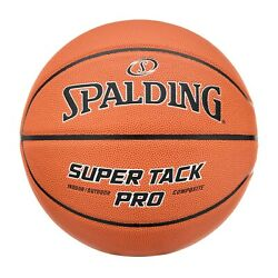 Spalding NBA 29.5 Super Tack Pro Composite Leather Indoor Outdoor Basketball $15.97