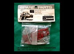 MONOGRAM RC Parts MAD WOLF Tie Rods and Ball Connectors No 6419 New Sealed $12.50