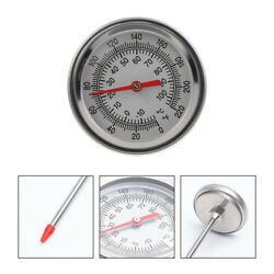 1pc Soil Thermometer Extended Probe Temperature Tool Compost Thermometer $14.82