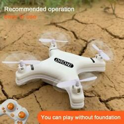 Mini Four axis RC Aircraft 2.4G Remote Control LED Pocket Drone Kids Xmas Gift $26.04