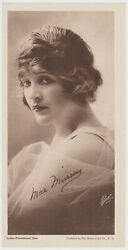 Mae Murray vintage 1916 Water Color Co Paper Printed Photo 4.25 X 8.5 $17.09