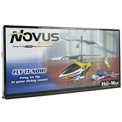 Heli Max Novus CX Helicopter RC 2.4 GHz Nano Sized Ready To Fly Coaxial NEW $103.39