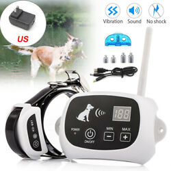 Wireless Electric Dog Fence Pet Containment System Shock Collars For 1 2 3 Dogs $61.74