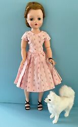 Doll Accessory: Fur Dog for Vintage Madame Alexander Cissy French German Bisque $53.99