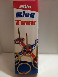 Elite Outdoor Games For Kids Ring Toss Yard Games for Adults and Family $15.44