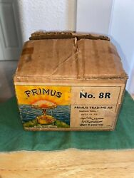 VINTAGE PRIMUS NO 8R SIGNLE BURNER BACKPACKING CAMPING STOVE VERY NICE $275.00