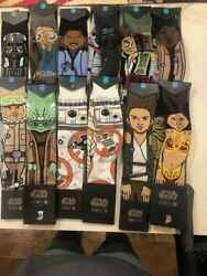 Stance Mens Star War socks Large NWT Multiple different styles $11.99