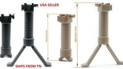 Polymer Bipod 6quot; 9quot; Adjustable for Hunting And Shooting Air paintball shotguns $19.63