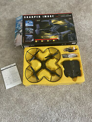 Sharper Image DX 3 Rechargeable 2.4 GHz Video Drone Quadcopter Still In Box $35.00