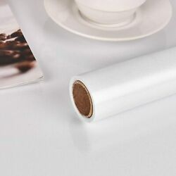 Glossy White Self Adhesive Contact Paper Bedroom Kitchen Cabinet Sticker 0.6x10m $36.99