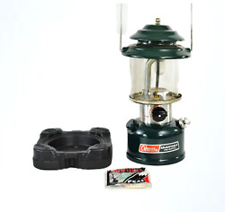 Vintage Coleman Model 286A700 Lantern Single Mantle 1987 with Base Made USA GUC $69.99
