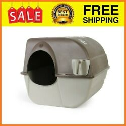Roll #x27;N Clean Self Cleaning Cat Litter Box Large $37.43