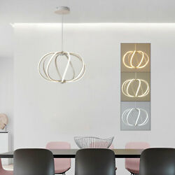 Modern Dimmable LED Ceiling Light 85W Lamp Pendant Dining Living Room Fixture $118.75