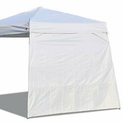 Canopy Side Wall for 10#x27;x 10#x27; Slant Leg Canopy Tent 1 Pack Sidewall Only White $32.92
