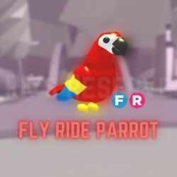 Fly Ride FR Parrot Roblox Adopt Me 2019 Jungle Egg fast delivery $17.00
