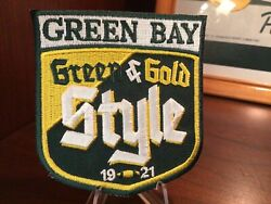 🏉🏉🏉green bay packers green and gold style embroidered patchnice edition $5.99