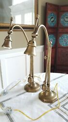 A Pair of Dutruc Rosset French Lamps William Lipton Lighting Table Lamps $1229.99
