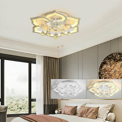 Modern Petal Chandelier Ceiling LED Light Dimmable LED Lamp with Remote Control $88.00