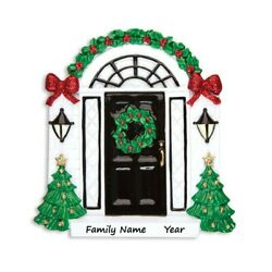 PERSONALIZED New Home House Christmas Tree Ornament 2021 Keepsake Holiday Gift $12.55
