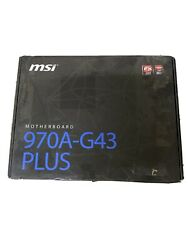 MSI MOTHERBOARD 970A G43 PLUS $78.88