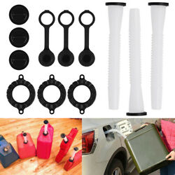 3 Replacement Spout Parts Kit Blitz Rubbermaid Rubbermade Fuel Gas Can Container $14.80