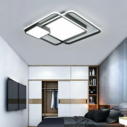 Ceiling LED Lamp Square Art Chandelier Energy Save 40W Home Decor US $93.00