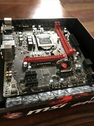 MSI h110m gaming Motherboard Intel 1151 Socket Type Mint Condition $59.00