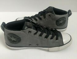 Converse Chuck Taylor All Star Boys Sneakers Size 5 Shoes Gray $29.95