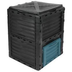 300L Composting Bin Large Capacity Compost Container for Outdoor Garden Yard $84.99