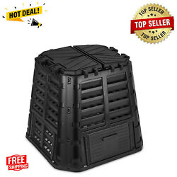 Garden Composter Bin Made from Recycled Plastic 110 Gallon Large Compost Bin $83.99