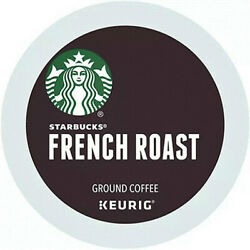 Starbucks French Dark Roast Coffee K Cup Pods 88 Count EXP: 03 2022 NEW $36.99