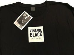 KENNETH COLE Vintage Black Tee Shirt Short Sleeve L New In Package $9.95