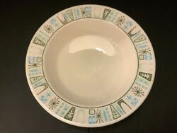 Taylor Smith Taylor Taylorstone Cathay Atomic Starburst Rimmed Soup Bowl $15.00