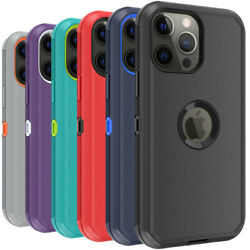 For iPhone 13 12 Pro Max 11 XR XS MAX Phone Case Heavy Duty Shockproof Cover $8.46