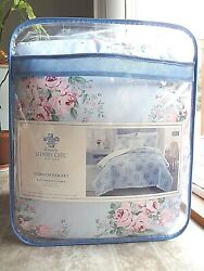 Simply Shabby Chic Bouquet Rose 4 Piece KING Comforter Set Free Shipping $119.99