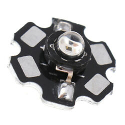 1PC 3W High Power 850nm Infrared LED Lamp Infrared LED Night Vision Camera Lamp^ C $1.96