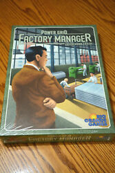 Friedemann Friese Power Grid Board Game Factory Manager BRAND NEW stand alone $44.00