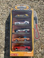 JADA BIGTIME MUSCLE 5 Pack Target Gas Pump Chevy Ford Dodge Mustang 1:64 Limited $33.99