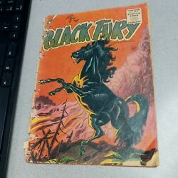 Black Fury #1 charlton comics golden age western and the saddle tramp horse 1955 $38.21