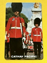 Cathay Pacific Airlines Queens Palace Guard Marching Single Swap Playing Card $2.39
