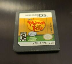 Phineas and Ferb Nintendo DS 2009 $3.60