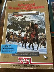 Advanced Dungeons amp; Dragons Secret of the Silver Blades 3.5 IBM SSI $30.00
